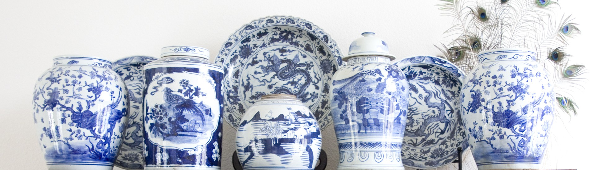Classic Blue and White Porcelain